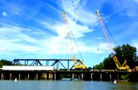 Congaree River Railroad Bridge Steel Truss Replacement